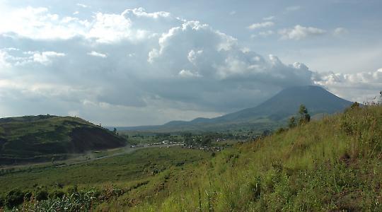 Schöne Landschaft, schreckliche Verhältnisse: Kivu im Ostkongo