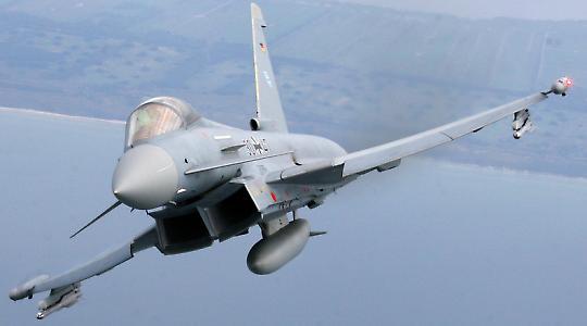 Komponenten vom Bodensee: Eurofighter
