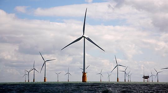 Aufwändig und teuer: Offshore-Windkraft
