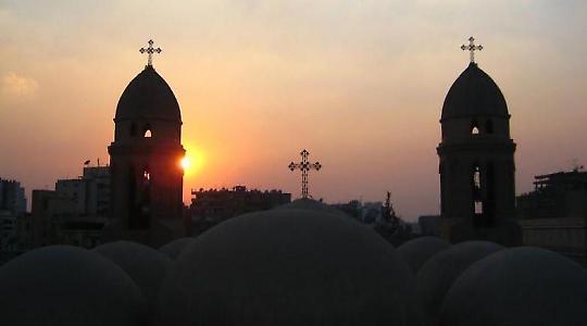 St. Markos-Kirche in Kairo  <br/>Foto von Bakar_88
