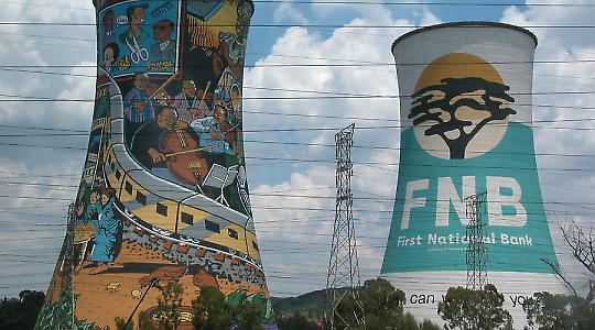 Kraftwerk in Soweto, Südafrika