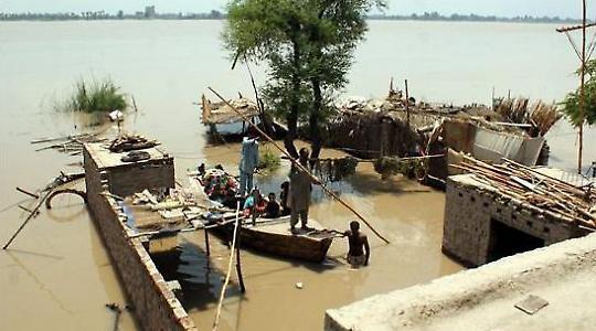 Flut in Pakistan <br/>Foto von Globovisión