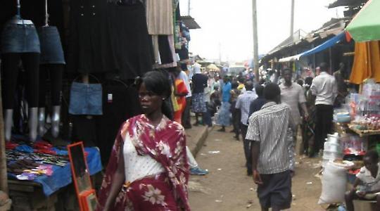 Straßenszene in der Hauptstadt Juba