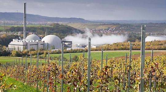 Atomare Idylle? Das AKW Neckarwestheim <br/>Foto von WeiterWinkel