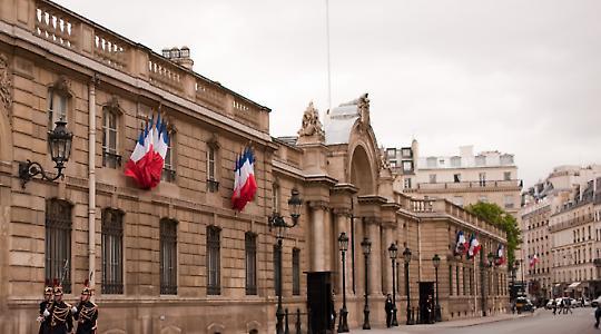 Neuer Hausherr gesucht: Palais de l'Elysée