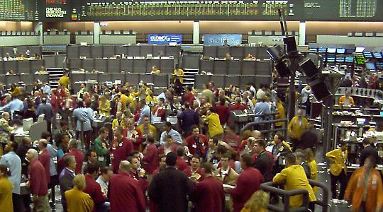 Die Chicago Mercantile Exchange (CME) gilt als einer der wichtigsten Handelsorte für Lebensmittel weltweit