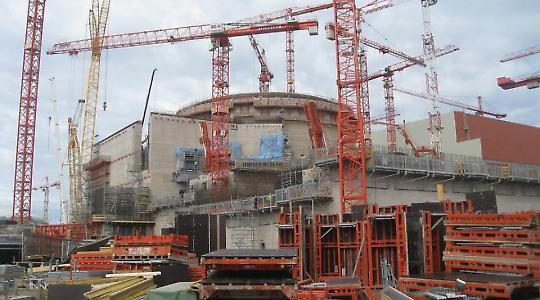 Der Reaktor Olkiluoto 3 im Bau <br/>Foto von bbcworldservice