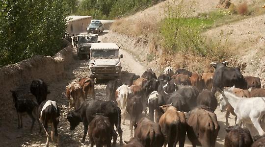 Das deutsche Militär gerät in Afghanistan – hier in Badakhshan – immer wieder in Schwierigkeiten. <br/>Foto von Isafmedia, Flickr