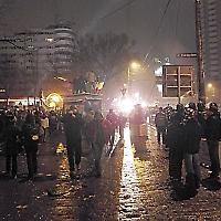 Proteste in Bukarest am 24. Januar