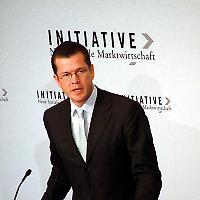 Guttenberg zu Gast beim BDI <br/>Foto der Initiative Neue Soziale Marktwirtschaft