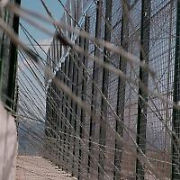 Der Zaun in Melilla ist die Grenze zwischen Marokko und Spanien. <br/>Foto von noborder network, Flickr