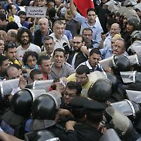 Kundgebung in Kairo im September: Ringen um Ägyptens Zukunft <br/>Bild von Nasser Nouri