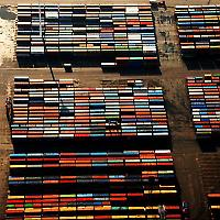 Containerhafen Altenwerder <br/>Foto von Tobias Mandt