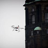 Polizei-Drohne in Dresden