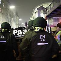 Kundgebung nach Razzia in Berlin <br/>Foto von Björn Kietzmann