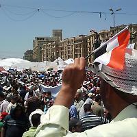 Kundgebung auf dem Tahrir-Platz Anfang Juli