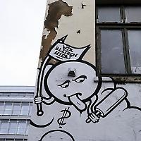 Im Gängeviertel in Hamburg <br/>Foto von lucky catz
