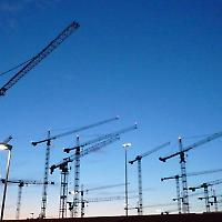 Bau des neuen BND-Sitzes in Berlin-Mitte <br/>Foto von antjeverena