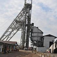 Schachtanlage in Mopani/Sambia