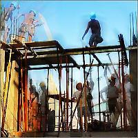 Baustelle in Spanien <br/>Foto von Jet Safi