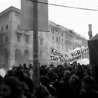 Proteste in Griechenland 2008 <br/>Foto von 0neiros