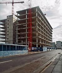 Das unfertige Gebäude der Anglo-Irish Bank steht als Sinnbild für die Kreditkrise: 23 Milliarden Euro kostete die Verstaatlichung <br/>Bild von William Murphy